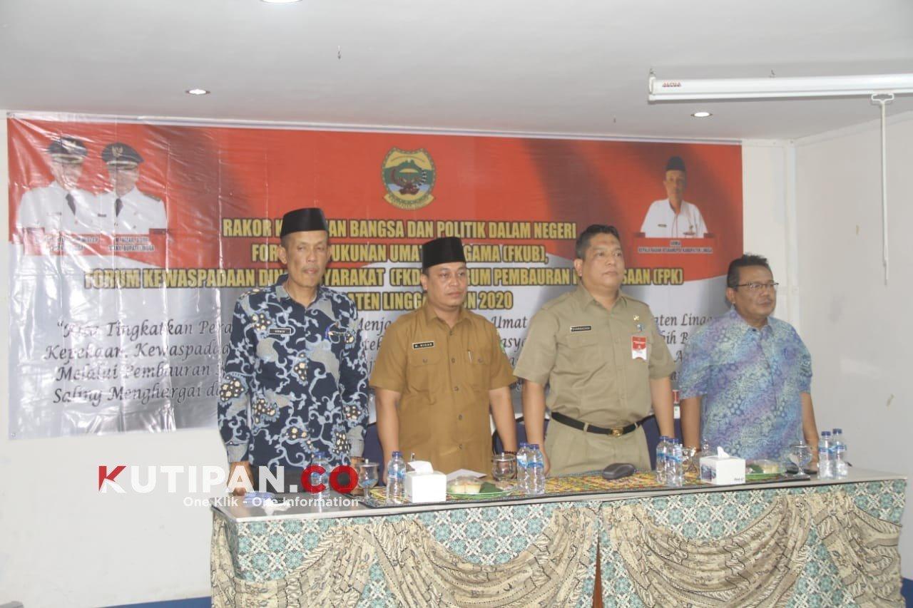 Foto Kutipan lingga, M Nizar, Pemkab Lingga, rakor, Wabup Lingga