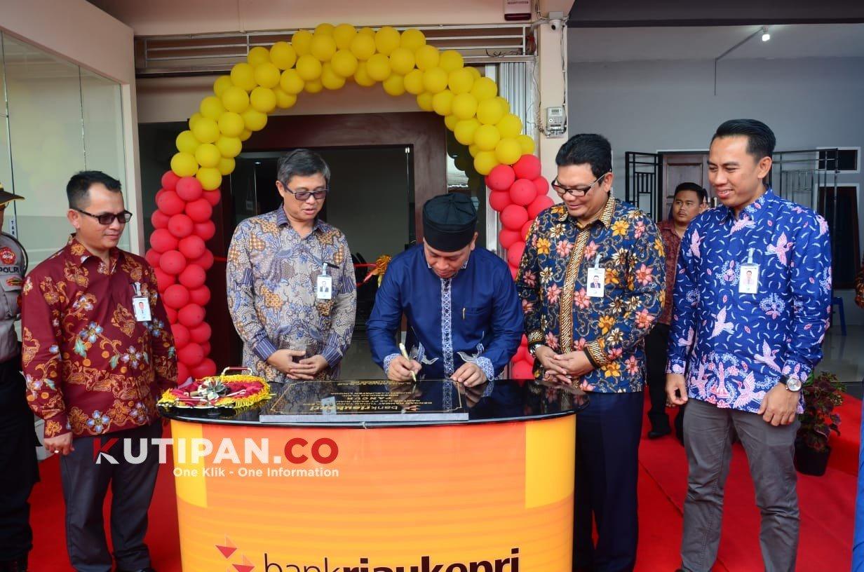 Perluas Kemitraan, Bank Riau Kepri Buka Kantor Kas di ...
