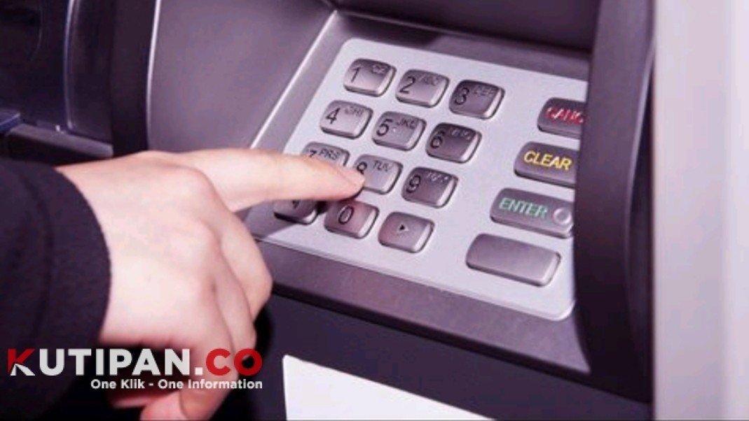 Foto Bank Nasional, Covid-19, Kebersihan ATM, OJK, virus corona