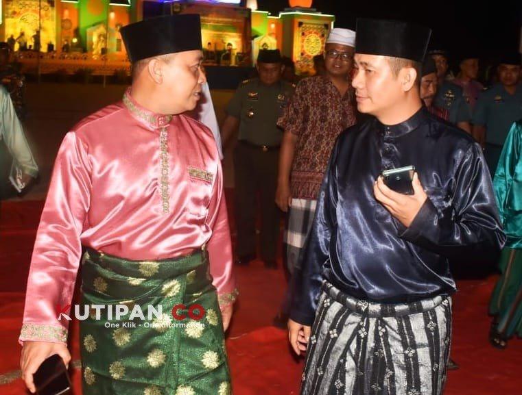 Foto Kutipan lingga, M. Nizar dan Ahmad Nasiruddin, Mampu pimpin lingga, Pilkada lingga 2020