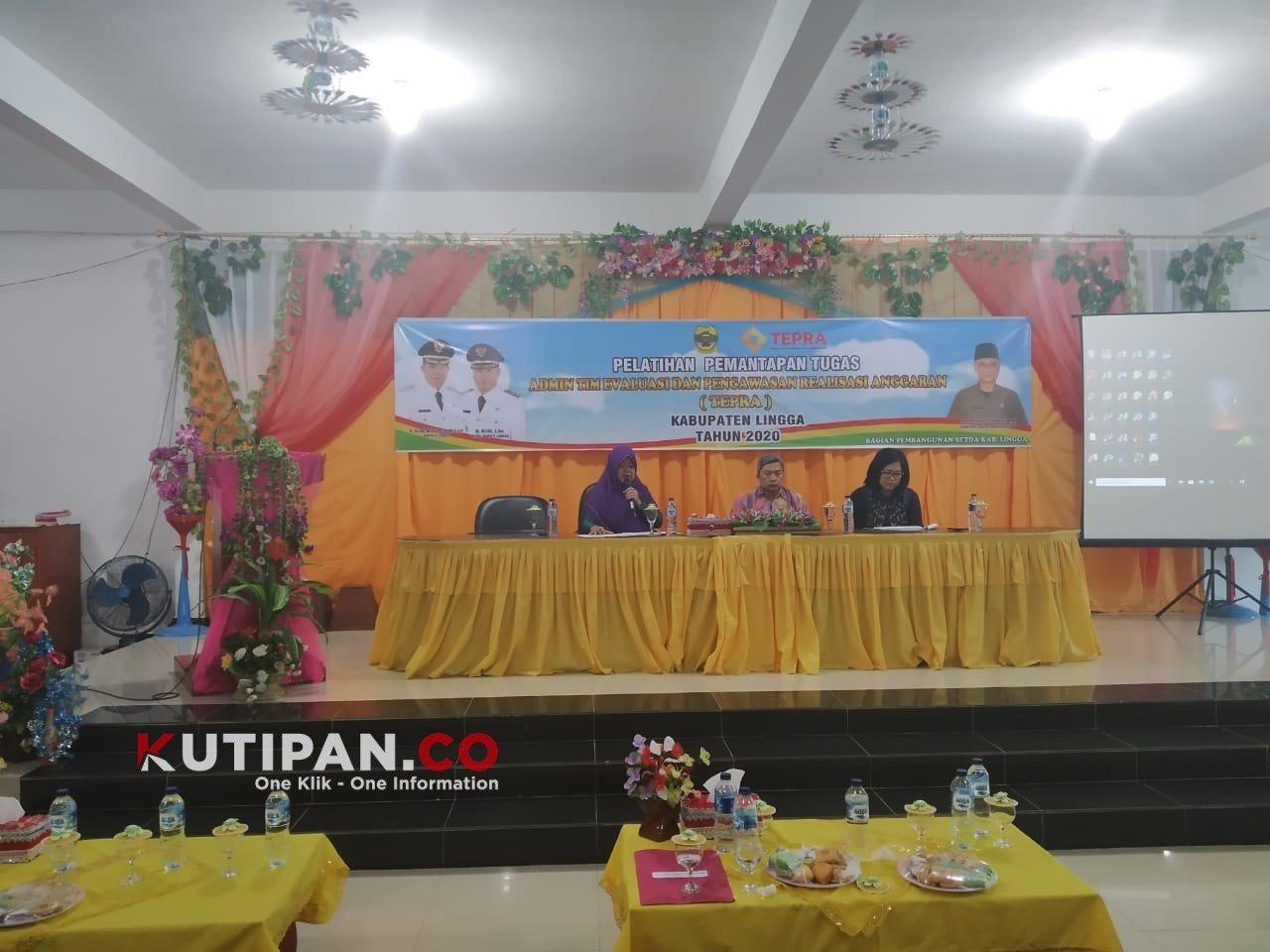 Foto Admin Tepra, Pemkab Lingga