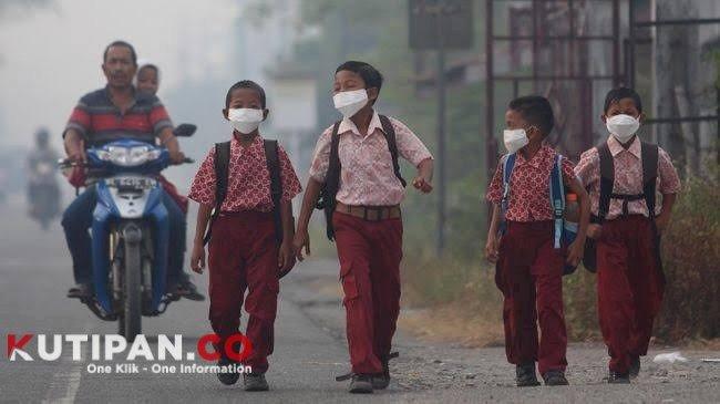 Foto Disdik Kepri, Kutipan Tanjungpinang, Larang siswa, pulang kampung