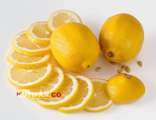 Foto Cara turunkan kolesterol, Lemon, Manfaat lemon
