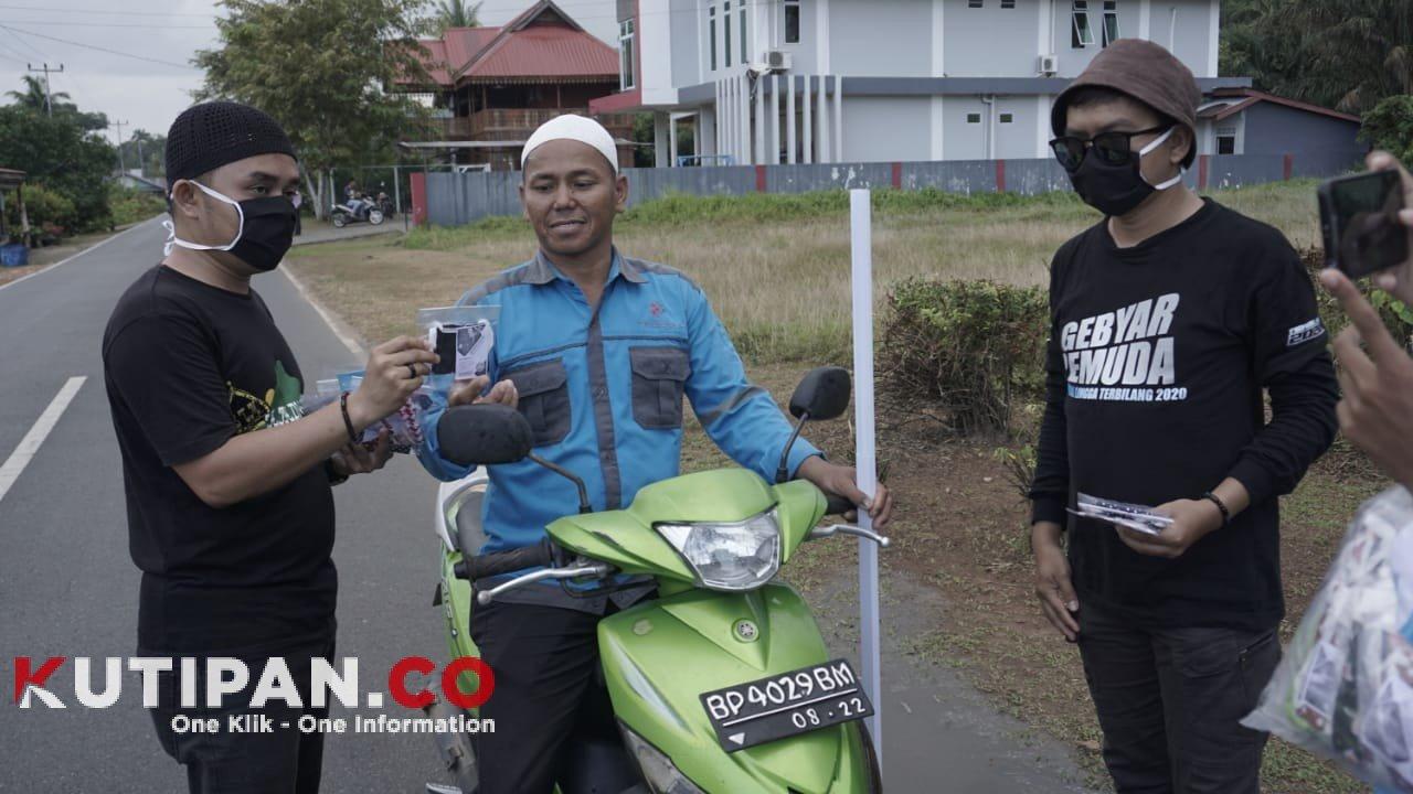 Foto Covid-19, Daik Lingga, DPD KNPI Lingga, Ketua DPD KNPI LINGGA, Masker kain, Update Covid-19