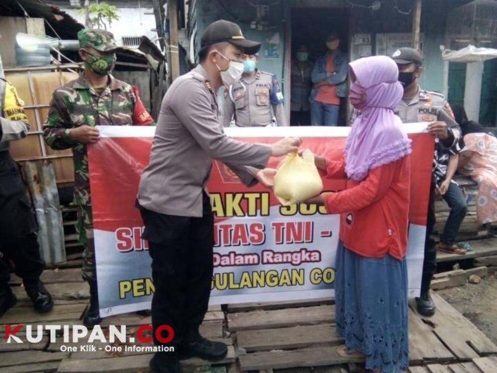 Foto BLT, Kutipan lingga, M Nizar, Pemkab Lingga, Wakil Bupati Lingga