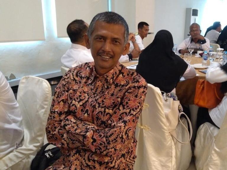 Foto Ketua PWI Tanjungpinang-bintan, kotak kosong, pers, Pilkada 2020