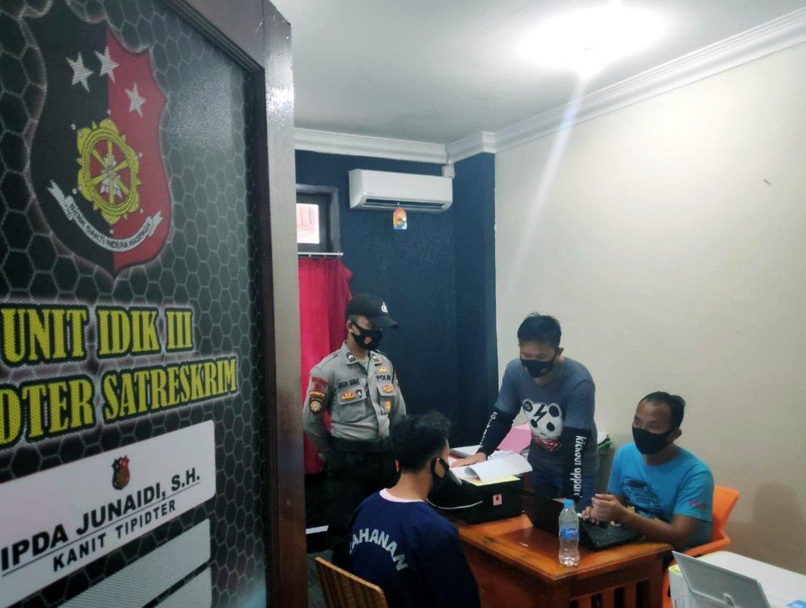 Pemuda Desa Resang Ditangkap Polisi