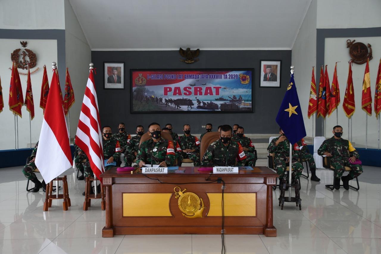 E-Gladi Posko Armada Jaya XXXVIII