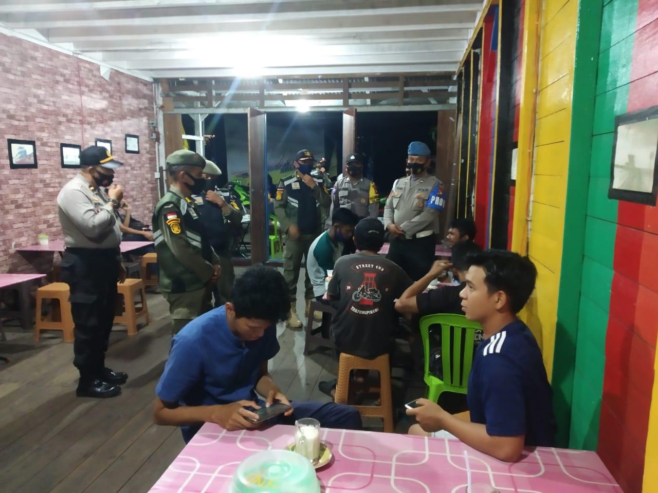 Patroli Gabungan Operasi Yustisi Polres Lingga