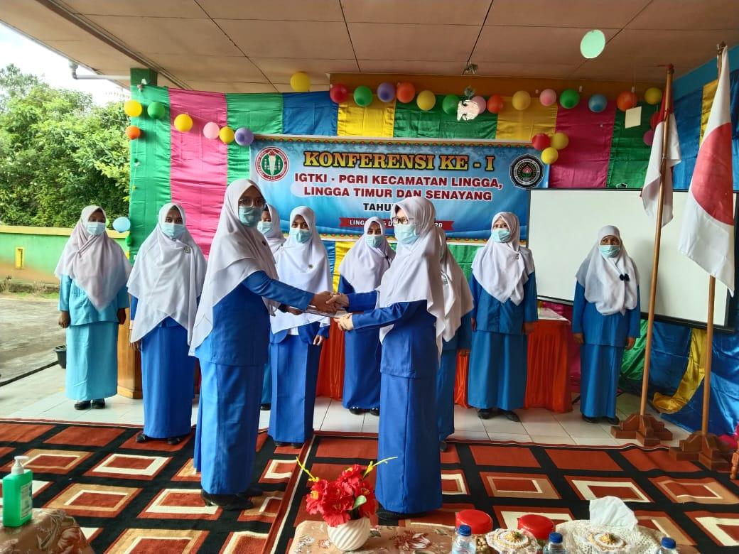 Foto Koferensi IGTKI-PGRI Terbentuk Tiga Pengurusan, Lingga, pgri, singkep, Singkep barat
