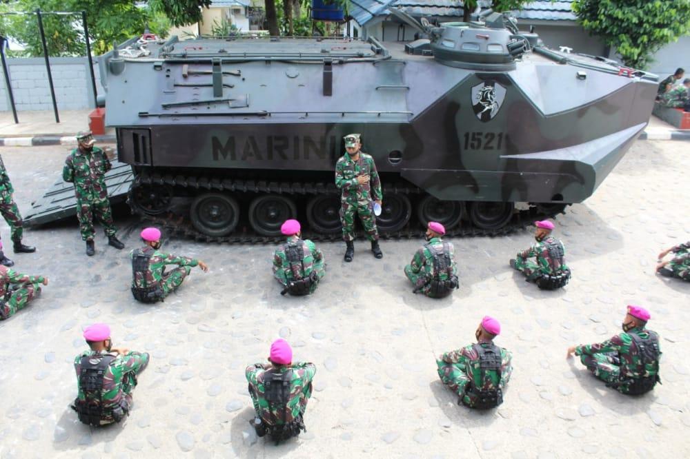 Prajurit Yonif 6 Marinir