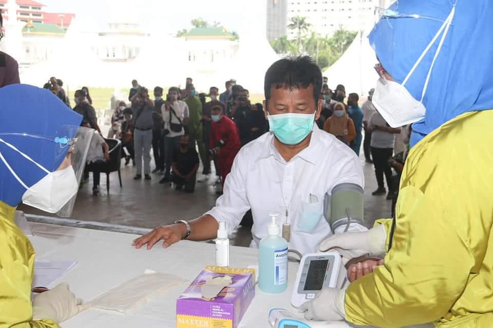 Walikota Batam Batal di Vaksin