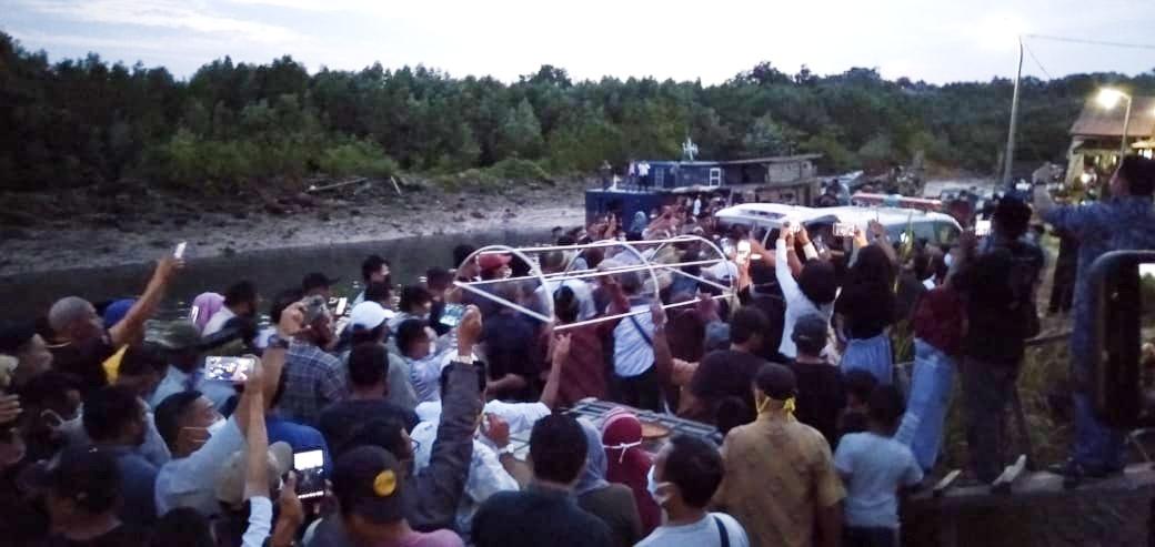 Foto Haji Permata Batam, Jumhan Bin Selo, Kutipan batam, Kutipan berita, Tanjung Sengkuang