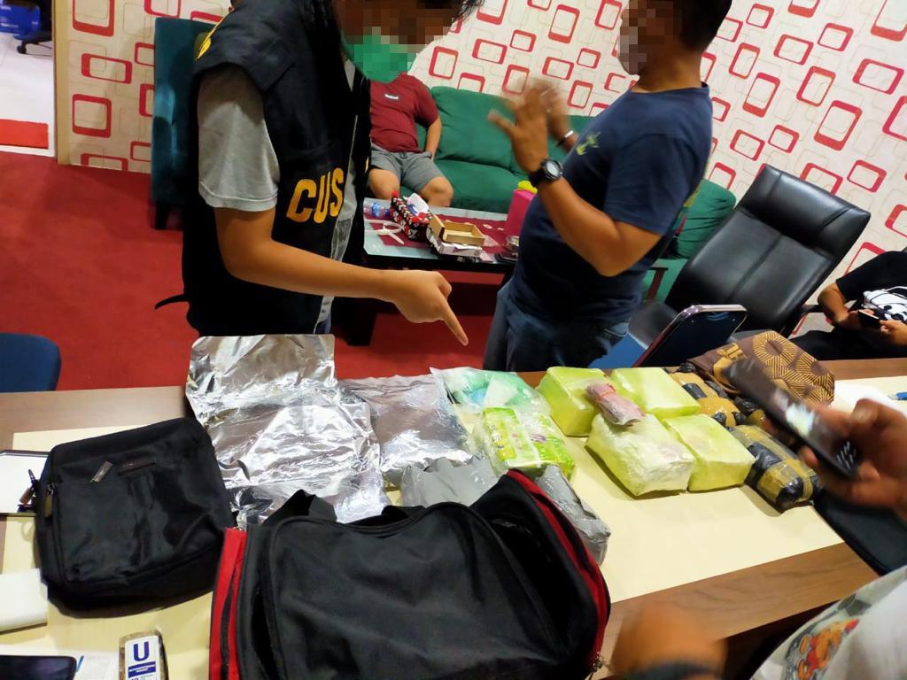 Foto asal malaysia, Bea Cukai, Narkoba, Polisi