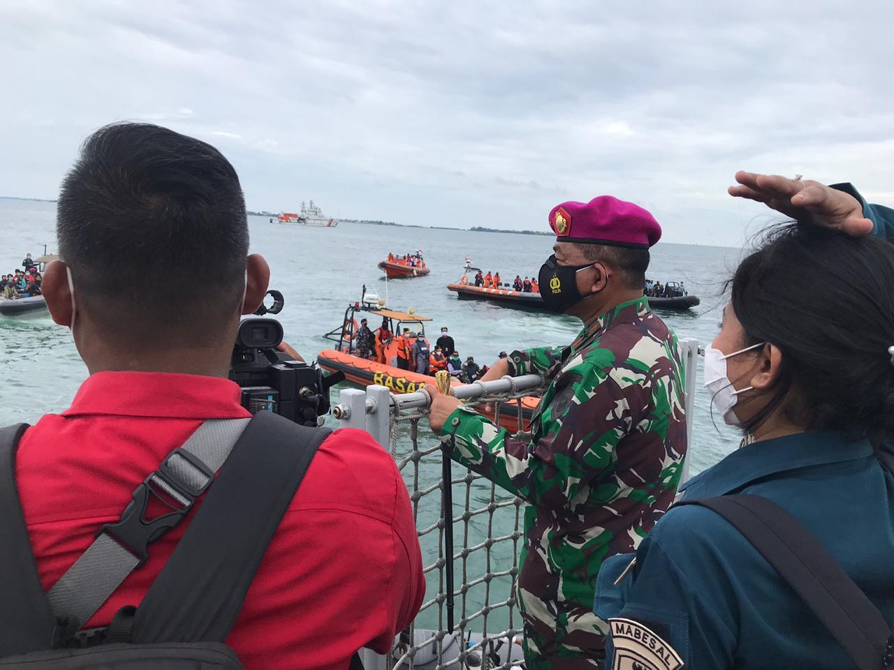 Pencarian Korban Pesawat Sriwijaya Air