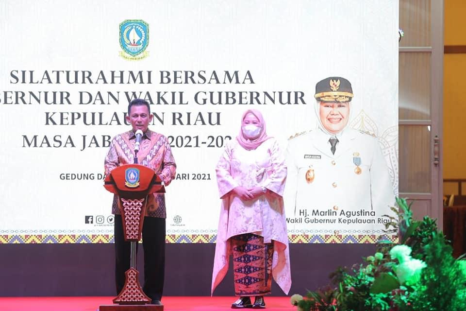 Gubernur dan Wakil Gubenur Kepri