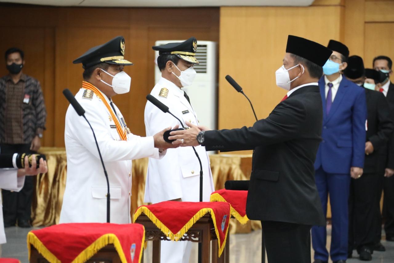 Suhajar Diantoro Resmi Sebagai Pj Gubernur Kepri