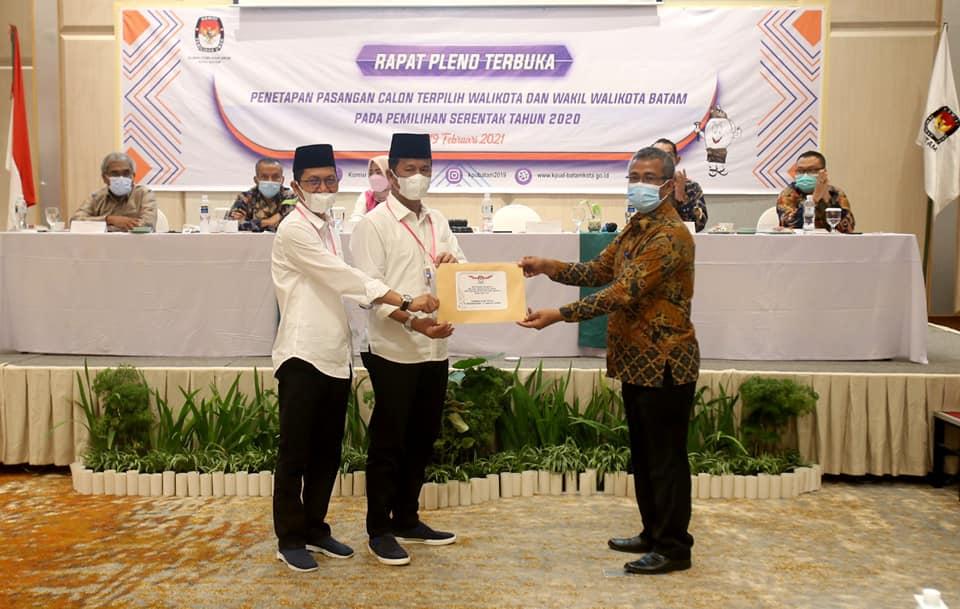 Wali Kota dan Wakil Wali Kota Batam