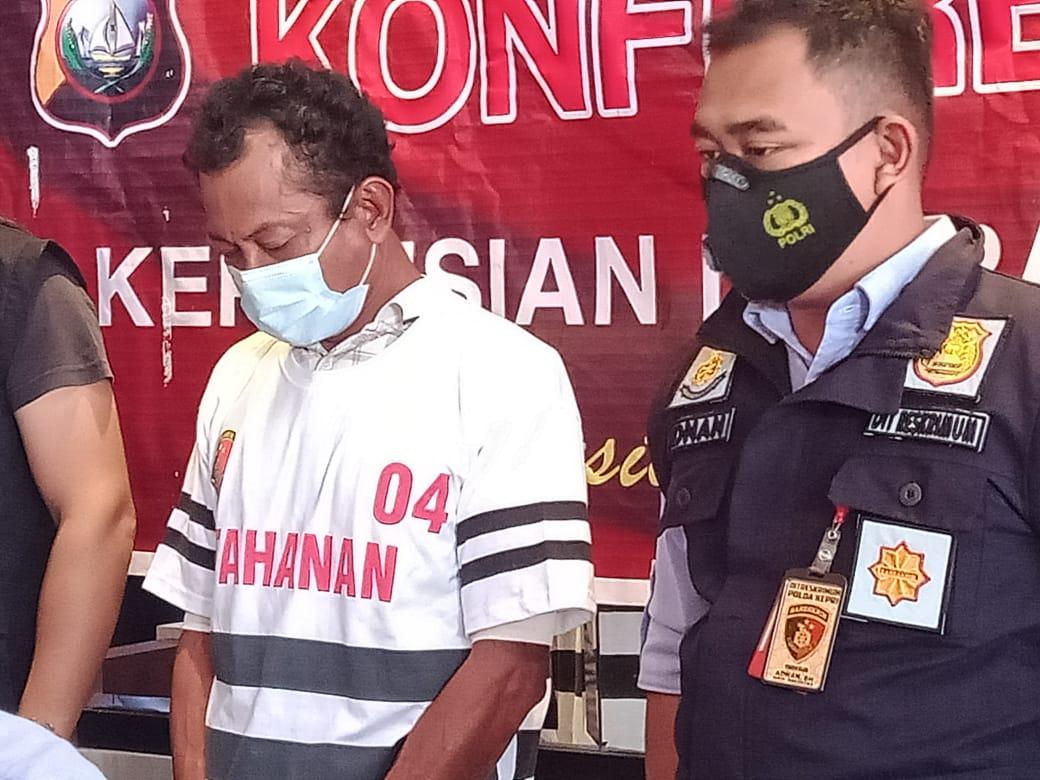 Residivis Kasus Pembunuhan di Dabo Singkep Cabuli