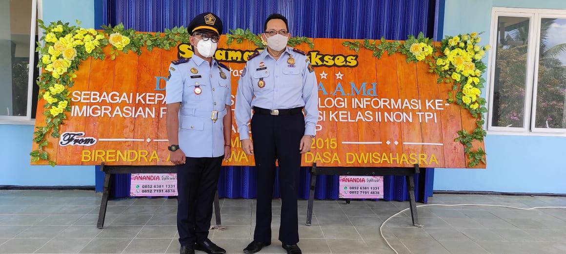 Kepala Kantor Imigrasi Dabo Singkep