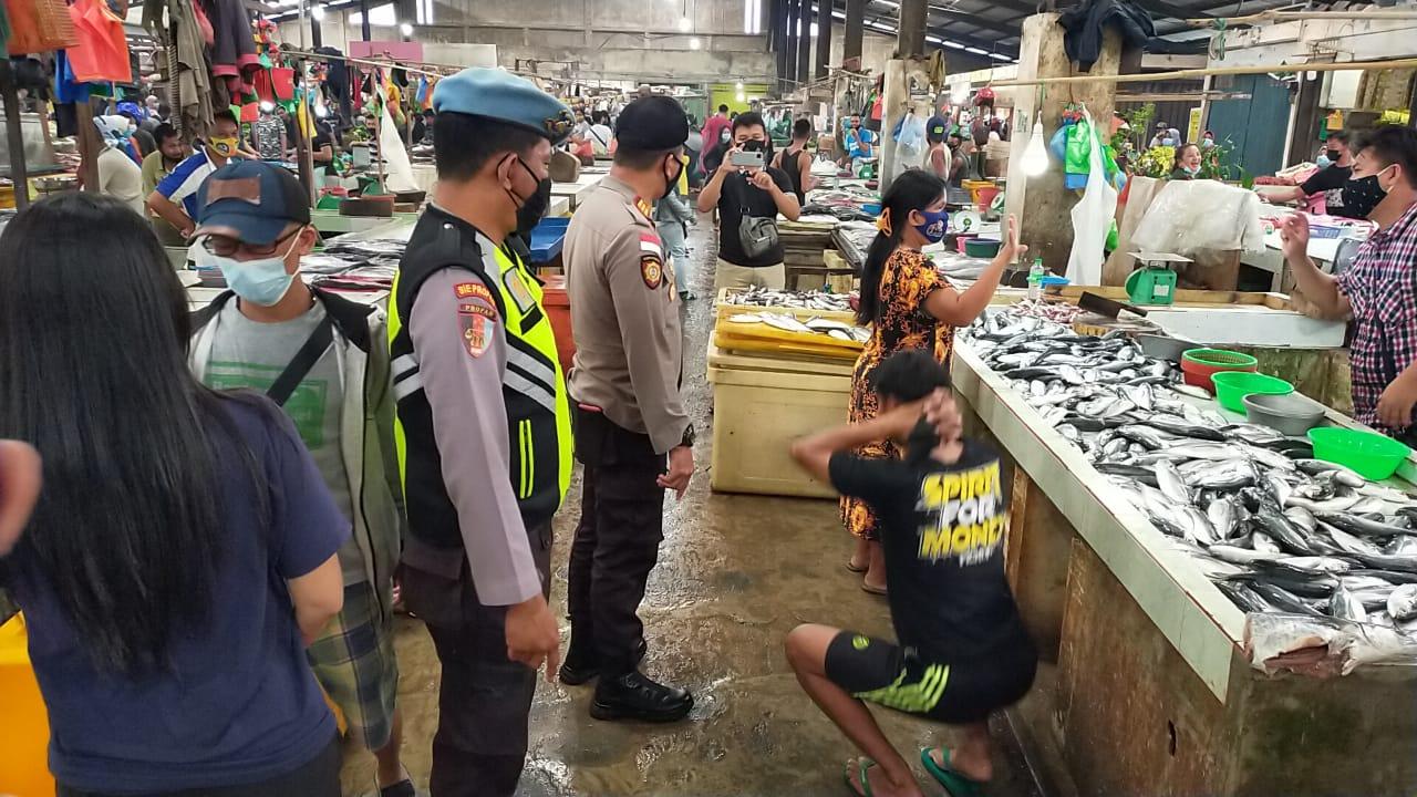 Tim Pemburu Prokes Polsek Tanjungpinang Timur
