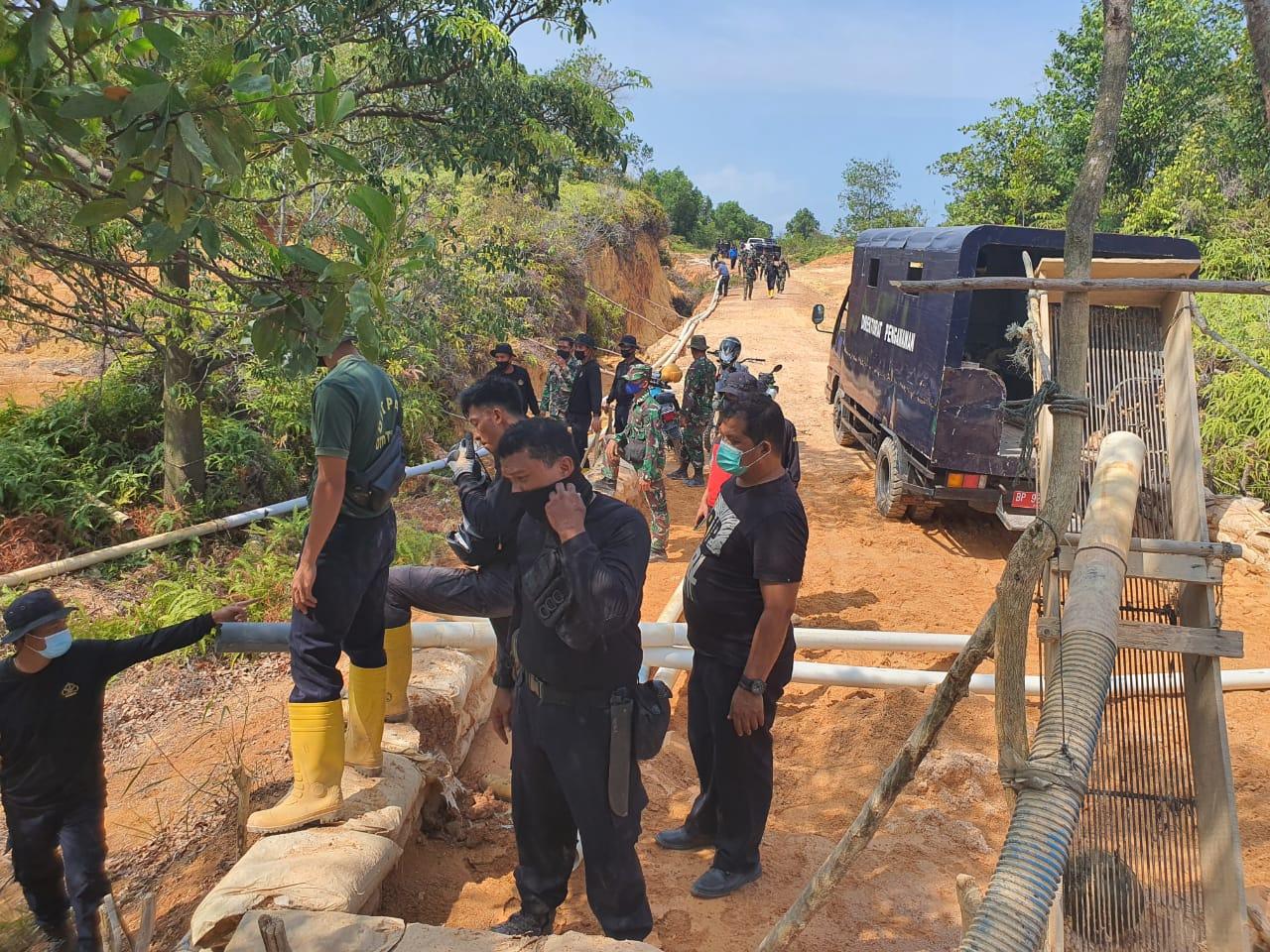 Patroli Gabungan TNI AU dan Ditpam BP Batam
