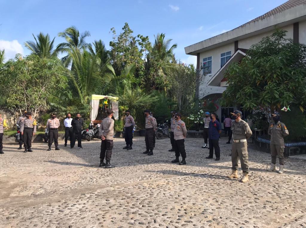 Polres Lingga Lakukan Pengamanan Rapat Pleno