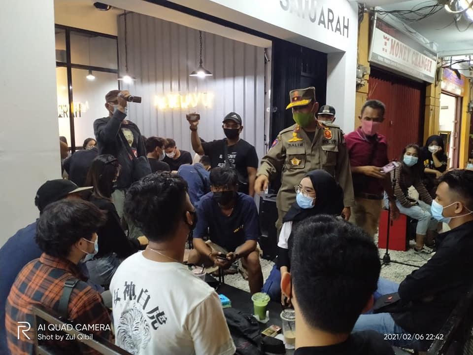 Tim Terpadu Penegak Disiplin Prokes Kota Batam