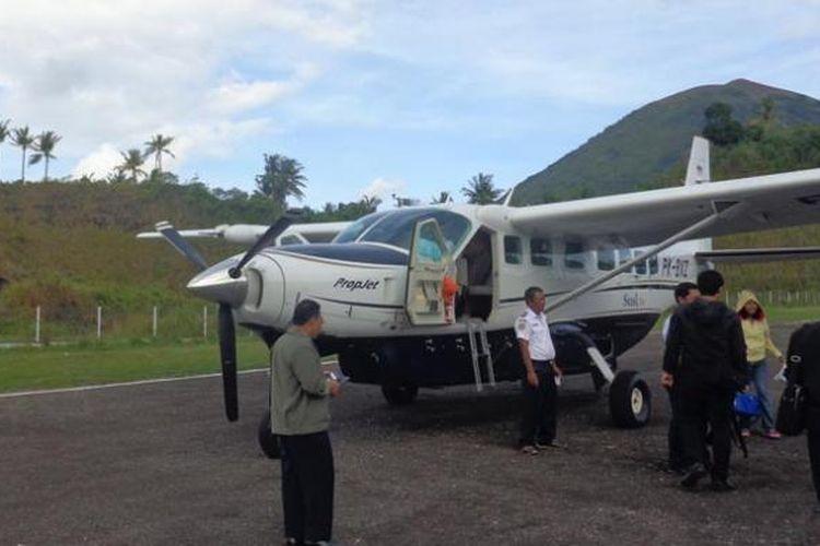 Pesawat Susi Air Disandera Kelompok KKB