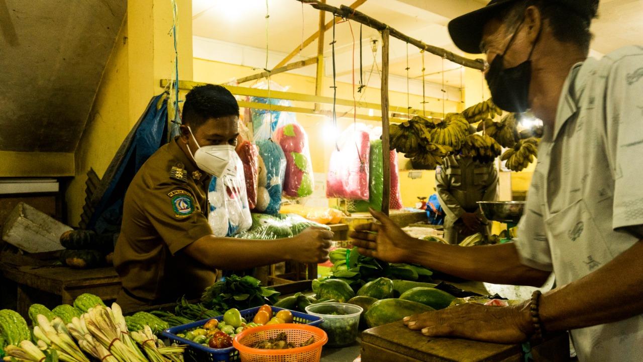 Foto neko wesha, Partai Nasdem, pasar dabo singkep, Wakil Bupati Lingga Sidak Pasar Dabo
