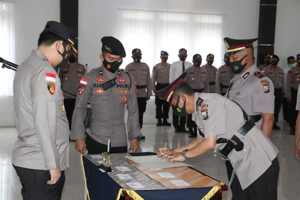 5 Pejabat Polres Lingga Pindah Tugas