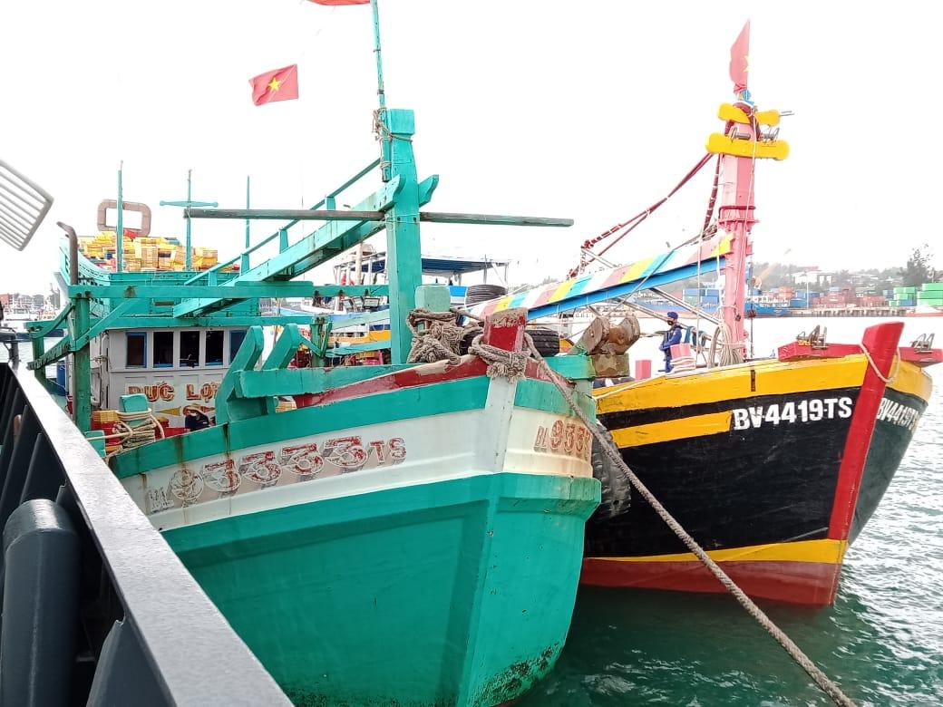 Kapal Ikan Asing Diamankan Baharkam Polri