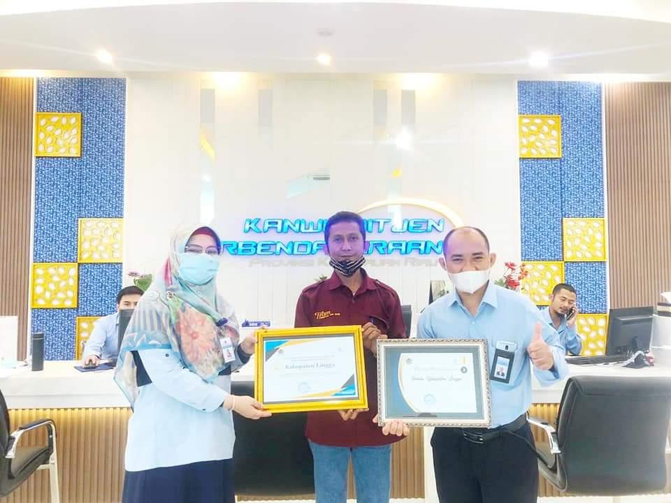 Penghargaan Direktorat Jenderal Perbendaharaan