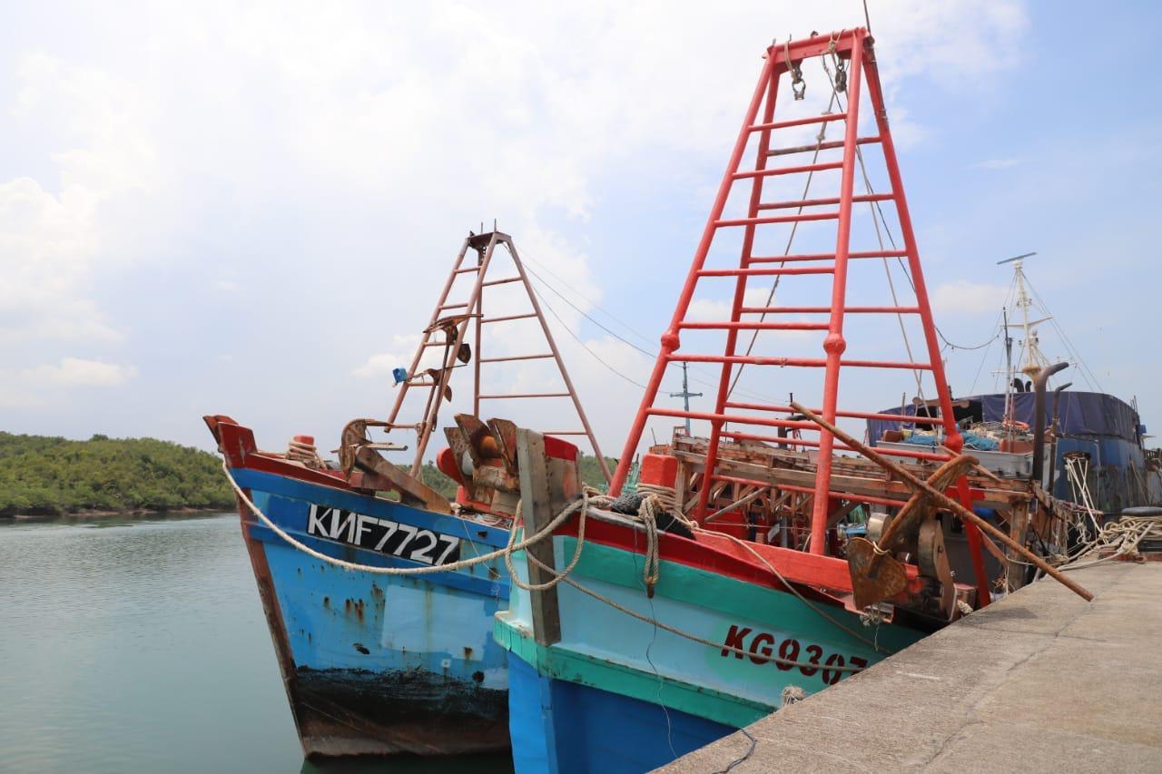 Foto KKP Tangkap Dua Kapal Ikan Vietnam di Laut Natuna Utara