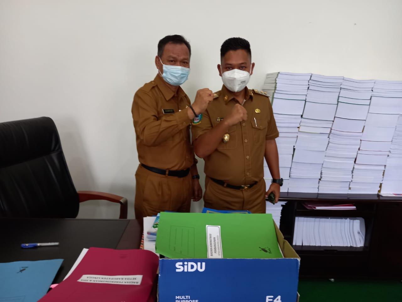 Foto Wabup Lingga Sambangi Pejabat Eselon