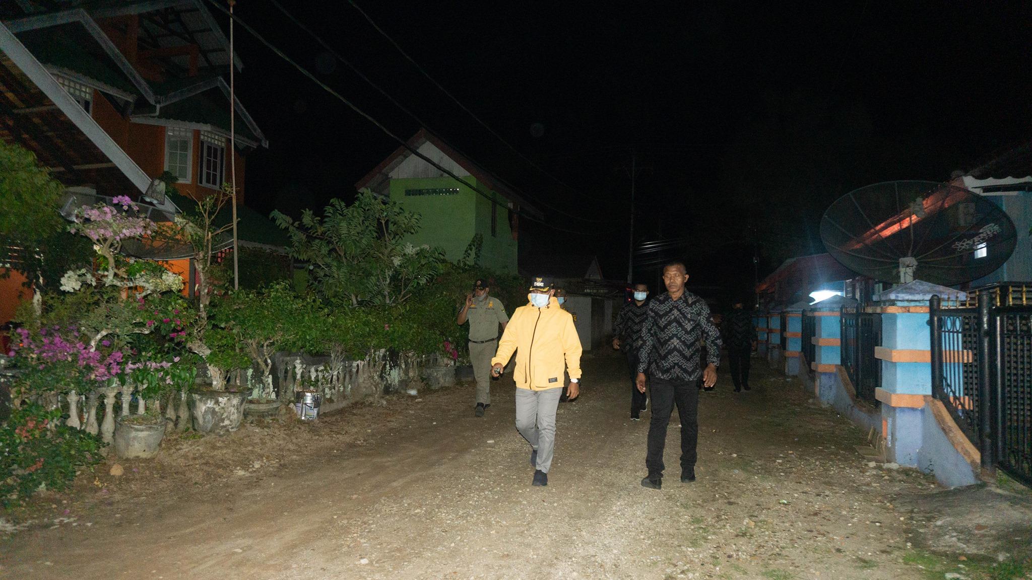 Jalan di RSUD Dabo