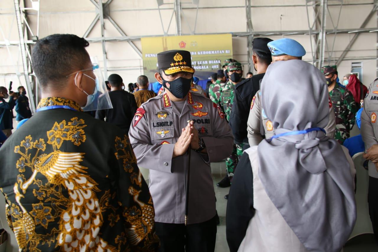 Foto Hadi Tjahjanto, headline, Kapolri, kutipan polisi, Polri, Prabowo Subianto