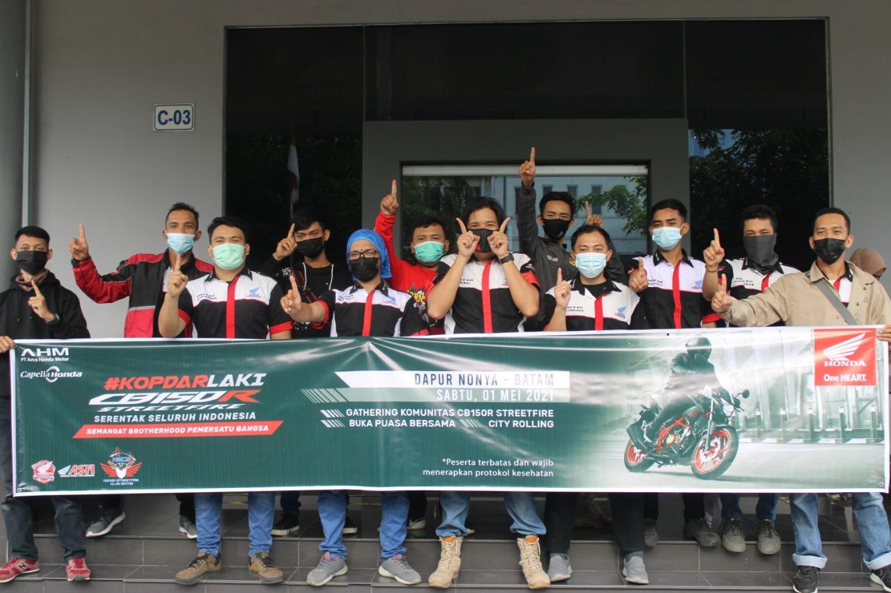 Foto Honda, Honda Kepri, Honda Streetfire Club Batam, Kutipan Kepri, PT Capella Dinamik Nusantara