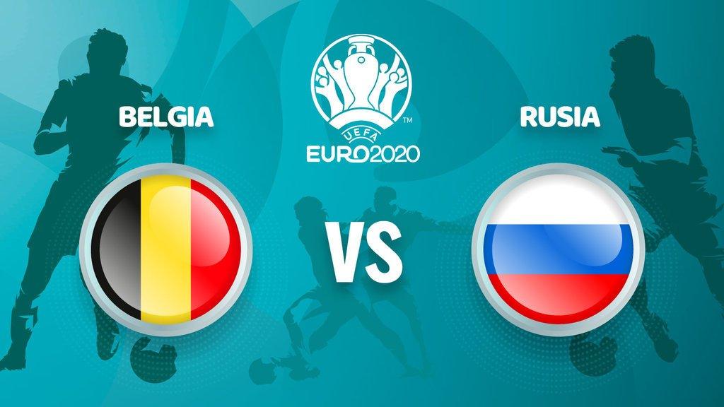 Belgia vs Rusia di Euro 2020