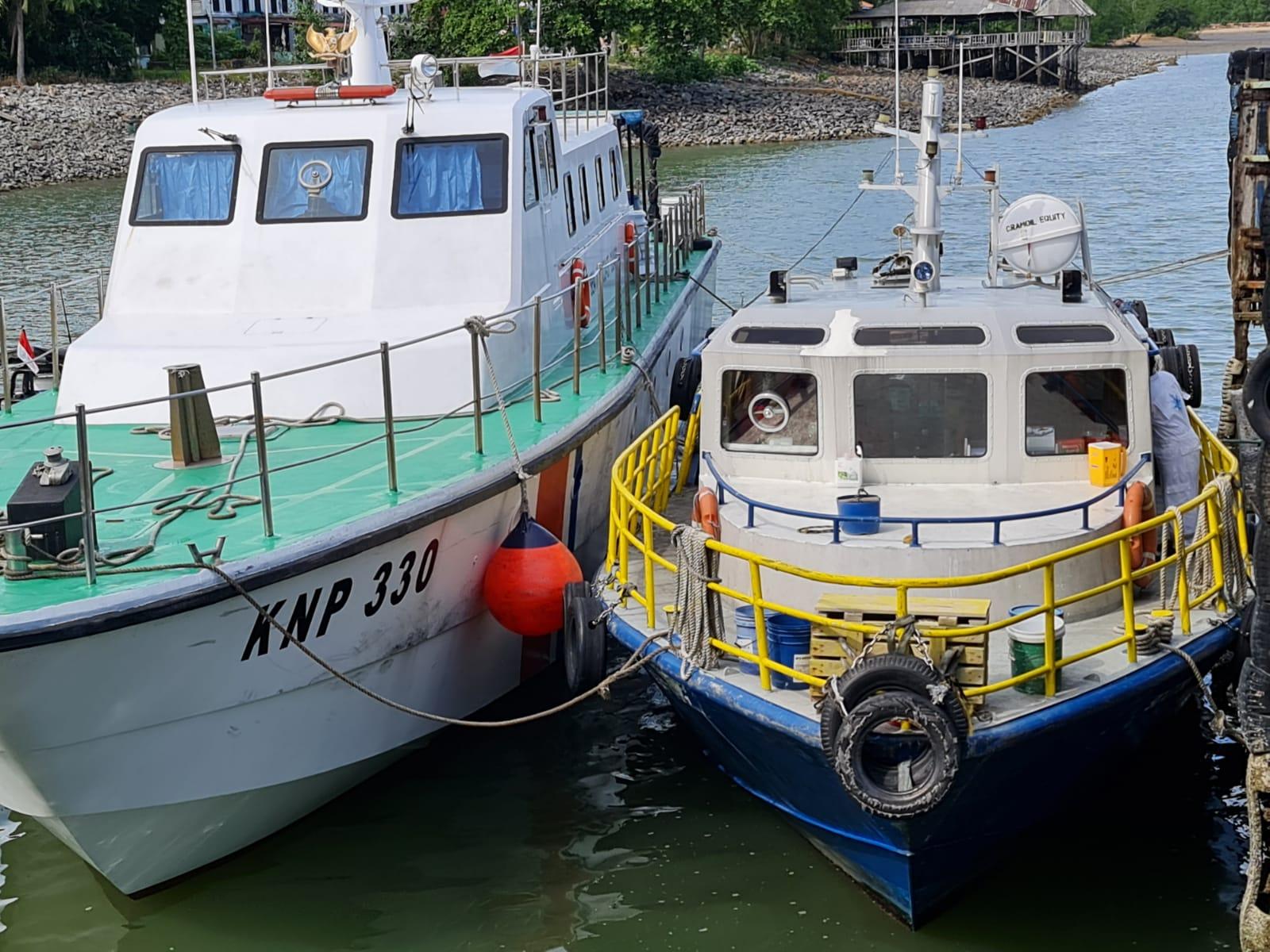 KSOP Batam Amankan Kapal Bermuatan Limbah Beracun