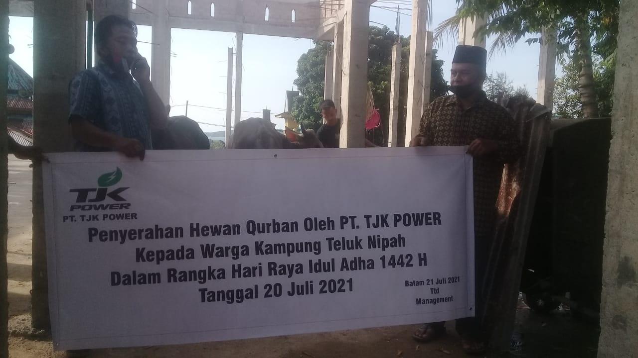 PT TJK Power Salurkan 6 Ekor Sapi