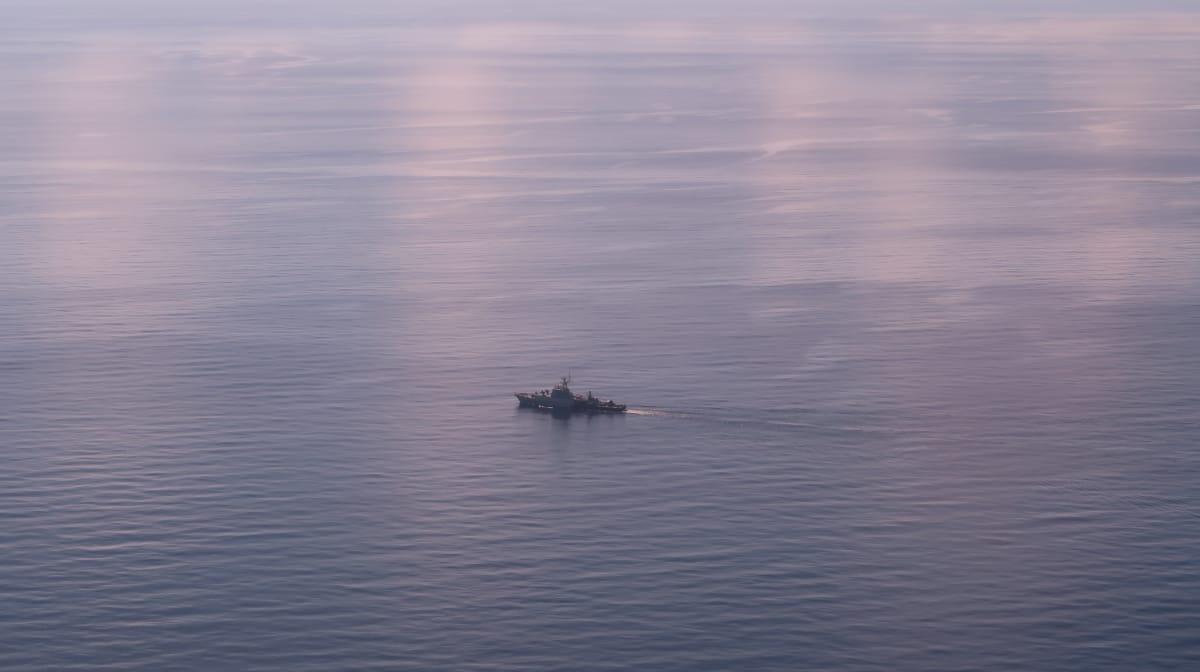 Kapal Asing di Laut Natuna Utara